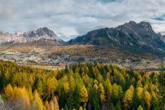 Cortina Di Ampezzo Panorama