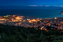 Kavala Panorama Blue Hour