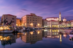 Blue Hour In Piran